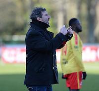 FC Knokke - OMS Ingelmunster : Franky Dekenne vraagt een wissel<br /> Foto VDB / Bart Vandenbroucke
