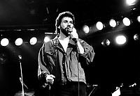 October 15,1987  File Photo- Pierre Bertrand in concert