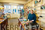 Joan Flavin in Flavins bookshop Listowel.