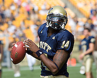 August 30, 2008: Pitt quarterback Greg Cross.. The Bowling Green Falcons defeated the Pitt Panthers 27-17 on August 30, 2008 at Heinz Field, Pittsburgh, Pennsylvania.
