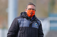 Brugge's Francky Dryepondt pictured before a female soccer game between Oud Heverlee Leuven and Club Brugge YLA on the 18 th and last matchday before the play offs of the 2020 - 2021 season of Belgian Womens Super League , saturday 27 th of March 2021  in Heverlee , Belgium . PHOTO SPORTPIX.BE | SPP | SEVIL OKTEM