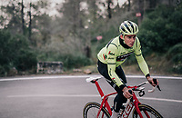 Mads PEDERSEN (DEN/Trek-Segafredo)<br /> <br /> Team Trek-Segafredo men's team<br /> training camp<br /> Mallorca, january 2019<br /> <br /> ©kramon