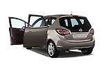 2WD Doors 2014 Opel MERIVA Cosmo 5 Door Mini MPV 2WD Stock Photo