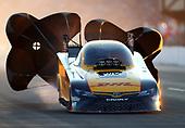 NHRA Mello Yello Drag Racing Series<br /> Route 66 NHRA Nationals<br /> Route 66 Raceway, Joliet, IL USA<br /> Saturday 8 July 2017 J.R. Todd, DHL, Camry, funny car<br /> <br /> World Copyright: Mark Rebilas<br /> Rebilas Photo