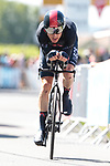 Geraint Thomas (WAL) Ineos Grenadiers during Stage 20 of the 2021 Tour de France, an individual time trial running 30.8km from Libourne to Saint-Emilion, France. 17th July 2021.  <br /> Picture: Colin Flockton | Cyclefile<br /> <br /> All photos usage must carry mandatory copyright credit (© Cyclefile | Colin Flockton)
