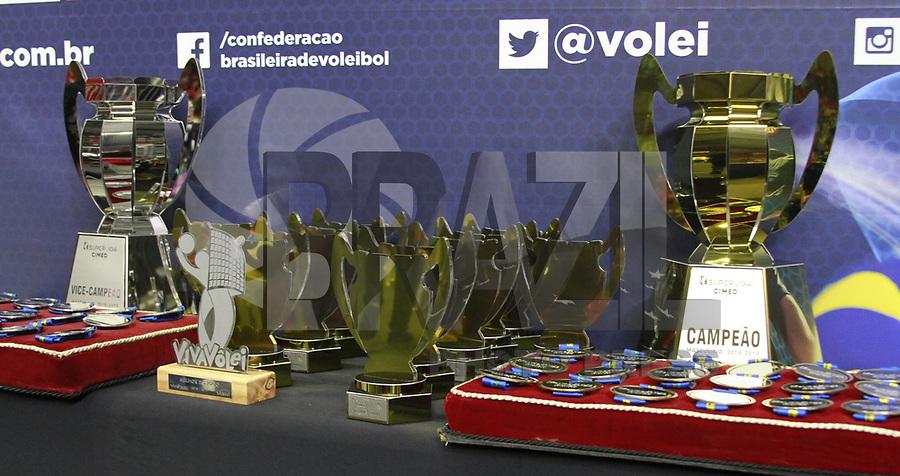 Suzano (SP), 11/05/2019 - Volei / Superliga - <br /> Taubate é campeão da Super Liga masculina de volei 2019 após vencer por 3 sets à 1 Sesi na Arena Suzano na noite deste sábado, 11. (Foto: Fernando Nascimento/Brazil Photo Press)