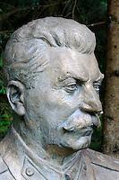 Stalin im Ausstellungsgelände Grutas-Park, Litauen, Europa