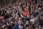 © Joel Goodman - 07973 332324 . 17/05/2015 .  Pre match . 0-0 . Manchester Utd vs Arsenal at Old Trafford Football Stadium , Manchester . Photo credit : Joel Goodman