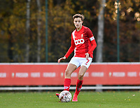 Maurane Marinucci of Standard (7) pictured during a female soccer game between Standard Femina de Liege and Club Brugge YLA on the seventh matchday of the 2020 - 2021 season of Belgian Scooore Womens Super League , saturday 14 th of November 2020  in Angleur , Belgium . PHOTO SPORTPIX.BE | SPP | DAVID CATRY