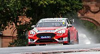 23rd August 2020; Oulton Park Circuit, Little Budworth, Cheshire, England; Kwik Fit British Touring Car Championship, Oulton Park, Race Day;  Rory Butcher Motorbase Performance driving a Ford Focus ST in race 2