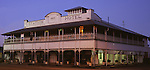 Station Hotel, Ingham<br /> Constructed in 1925, the Station Hotel in Ingham is a classic <br /> example of a Queenslander style pub in a sugar cane  producing town.