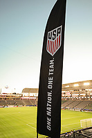 Carson, CA - Sunday January 28, 2018: Banner prior to an international friendly between the men's national teams of the United States (USA) and Bosnia and Herzegovina (BIH) at the StubHub Center.