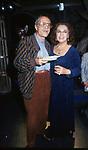 NINO MANFREDI E ANNA PROCLEMER<br /> FESTA AL GILDA ROMA 1995