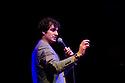 "Edinburgh, UK. 19/08/2011. Patrick Monahan in his show ""Hug Me, I feel Good"" at Edinburgh Festival Fringe 2011. Patrick is a finalist in ITV's ""Show Me the Funny"". Photo credit: Jane Hobson"