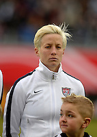 Offenbach, Germany, Friday, April 05 2013: Womans, Germany vs. USA, in the Stadium in Offenbach,  Megan Rapinoe (USA)..