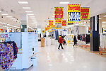 People at half empty Sears store closing sale at Yorkdale shopping center, Toronto, Ontario, Canada 2014.