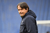 Simone Inzaghi, coach of Lazio, during the Serie A football match between SS Lazio and ACF Fiorentina at Olimpico stadium in Roma (Italy), January 6th, 2021. Photo Andrea Staccioli / Insidefoto