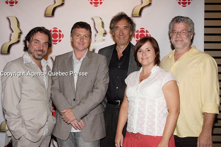 Montreal (QC) CANADA, August 28, 2007-<br /> -CHRISTIAN BEGIN, Conference de presse  pour les finalistes au prix gemeaux<br /> <br /> photo : (c) images Distribution