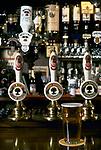 The Village Pub. The Pear Tree. Hook Norton, Oxfordshire, England. 1990s 1991