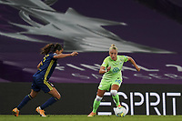 30th August 2020, San Sebastien, Spain;  Pia-Sophie Wolter of VfL Wolfsburg in action during the UEFA Womens Champions League football match Final between VfL Wolfsburg and Olympique Lyonnais.