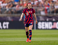 EAST HARTFORD, CT - JULY 5: Rose Lavelle #16 of the USWNT walks on the field during a game between Mexico and USWNT at Rentschler Field on July 5, 2021 in East Hartford, Connecticut.