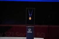 SPEEDSKATING: DORDRECHT: 06-03-2021, ISU World Short Track Speedskating Championships, gold medal, ©photo Martin de Jong