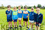Jack and Danny Hickey, Joesph Bell, Jamie Curtin, TJ Walsh and Gary Cahill at the family fun day in Knocknagoshel on Friday.