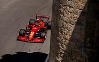6th June 2021; F1 Grand Prix of Azerbaijan, Race Day;  55 SAINZ Carlos, Scuderia Ferrari SF21 during the Formula 1 Azerbaijan Grand Prix 2021 at the Baku City Circuit