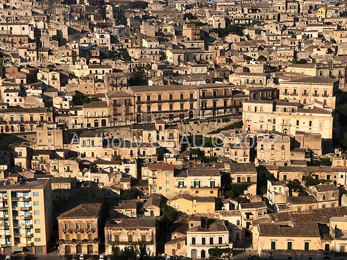 Modica, Sicily, Italy<br /> July 22, 2019<br /> <br /> The town at sunset