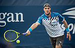 August 27,2019:  Jan-Lennard Struff (GER) defeated Casper Ruud (NOR) 6-4, 6-4, 6-2, at the US Open being played at Billie Jean King National Tennis Center in Flushing, Queens, NY.  ©Jo Becktold/CSM