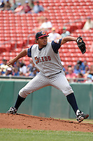 Toledo Mudhens Humberto Sanchez during an International League game at Dunn Tire Park on June 8, 2006 in Buffalo, New York.  (Mike Janes/Four Seam Images)