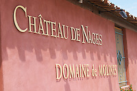 chateau de nages rhone france
