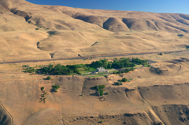 Maryhill Museum overlooking Columbia River