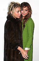 MARY-KATE OLSEN AND ASHLEY OLSEN 2004<br /> AT OLYMPUS FASHION WEEK: MARC JACOBS SPRING 2005 COLLECTION AT PIER 54 IN NEW YORK CITY <br /> Photo By John Barrett/PHOTOlink /MediaPunch