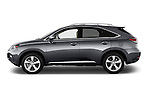 Car Driver side profile view of a 2015 Lexus RX 350 5 Door Suv 2WD Side View