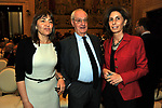RENATA POLVERINI CON CESARE ROMITI E MARIA PAOLA MERLONI<br /> PREMIO GUIDO CARLI - TERZA  EDIZIONE<br /> PALAZZO DI MONTECITORIO - SALA DELLA LUPA<br /> CON RICEVIMENTO  HOTEL MAJESTIC   ROMA 2012
