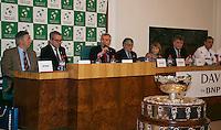 30-01-2014,Czech Republic, Ostrava, Cez Arena, Davis Cup, Czech Republic vs Netherlands, draw, city hall, <br /> Photo: Henk Koster