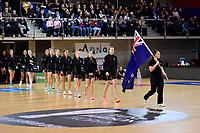 International Netball - NZ Silver Ferns v England Roses at Te Rauparaha Arena, Porirua, New Zealand on Thursday 7 September 2017.<br /> Photo by Masanori Udagawa. <br /> www.photowellington.photoshelter.com