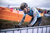 Toon Aerts (BEL)<br /> <br /> Men's Elite race<br /> UCI 2020 Cyclocross World Championships<br /> Dübendorf / Switzerland<br /> <br /> ©kramon