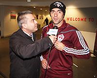 Claudio Lopez#7 at MLS Cup 2010 at BMO Stadium in Toronto, Ontario on November 21 2010. Colorado won 2-1 in overtime.