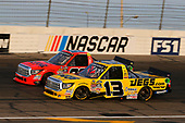 NASCAR Camping World Truck Series<br /> Drivin' For Linemen 200<br /> Gateway Motorsports Park, Madison, IL USA<br /> Saturday 17 June 2017<br /> Cody Coughlin, JEGS Toyota Tundra and Grant Enfinger, Ride TV Toyota Tundra<br /> World Copyright: Russell LaBounty<br /> LAT Images