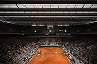 29th September 2020, Roland Garros, Paris, France; French Open tennis, Roland Garros 2020;  Ambiance during the match between Kristina MLADENOVIC FRA and Laura SIEGEMUND GER in the Philippe Chatrier court on the first round of the French Open