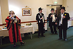 Bodmin Wassailers old New Years Day 6th January 2016.<br /> <br /> The deputy Mayor Jacquie Gammon