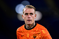 Rick Karsdorp of AS Roma warms up during the Europa League Group Stage A football match between AS Roma and CSKA Sofia at stadio olimpico in Roma (Italy), October, 29th, 2020. Photo Andrea Staccioli / Insidefoto