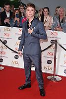 HRVY<br /> arriving for the National Television Awards 2021, O2 Arena, London<br /> <br /> ©Ash Knotek  D3572  09/09/2021
