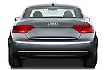 Straight rear view of a 2012 Audi A5 S Line Coupe