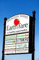 Photography of Crosland's Toringdon Market.