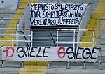 Fussball - 3.Bundesliga - Saison 2020/21<br /> Kaiserslautern -  Fritz-Walter-Stadion 07.04.2021<br /> 1. FC Kaiserslautern (fck)  - FSV Zwickau (zwi)<br /> Fan-Transparente<br /> <br /> Foto © PIX-Sportfotos *** Foto ist honorarpflichtig! *** Auf Anfrage in hoeherer Qualitaet/Aufloesung. Belegexemplar erbeten. Veroeffentlichung ausschliesslich fuer journalistisch-publizistische Zwecke. For editorial use only. DFL regulations prohibit any use of photographs as image sequences and/or quasi-video.