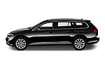 Car Driver side profile view of a 2020 Volkswagen Passat-Variant Elegance-Business 5 Door Wagon Side View