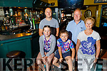 The Turner family standing in their bar on Tuesday morning. <br /> Seated AJ and Amy.<br /> Standing l to r: Aidan, Jerry and Carmel Turner